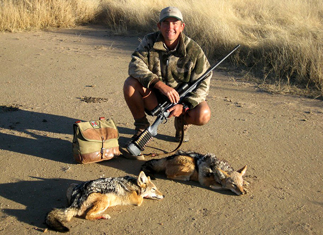 Black-backed Jackal Trophy Hunting Makadi Safaris