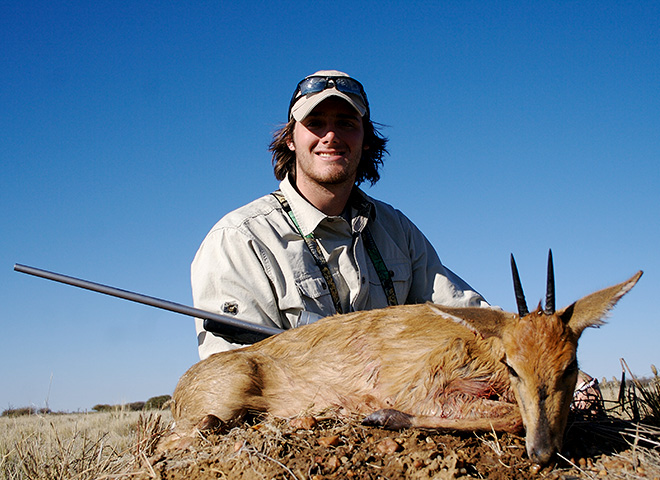 Common Duiker Trophy Hunting Makadi Safaris