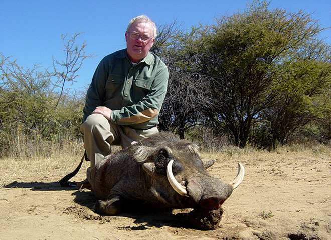Warthog Trophy Hunting Makadi Safaris
